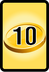 Wheel of Cash raffle Bonus board- number 10