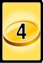 Wheel of Cash raffle Bonus board- number 4
