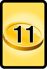 Wheel of Cash raffle Bonus board- number 11