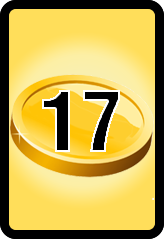Wheel of Cash raffle Bonus board- number 17