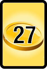 Wheel of Cash raffle Bonus board- number 27