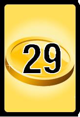 Wheel of Cash raffle Bonus board- number 29