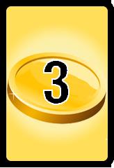 Wheel of Cash raffle Bonus board- number 3