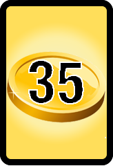Wheel of Cash raffle Bonus board- number 35